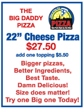 Big Daddy Pizza, Slice of the Pie Pizza